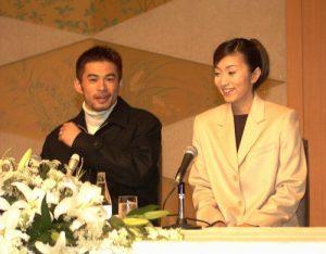 イチローの妻である福島弓子の画像